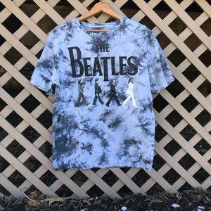 Vintage Beatles Tye Dye T Shirt